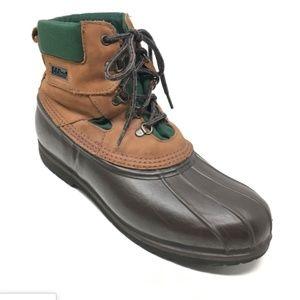 Men's LL Bean Waterproof Hunting Duck Boots Sz 13M